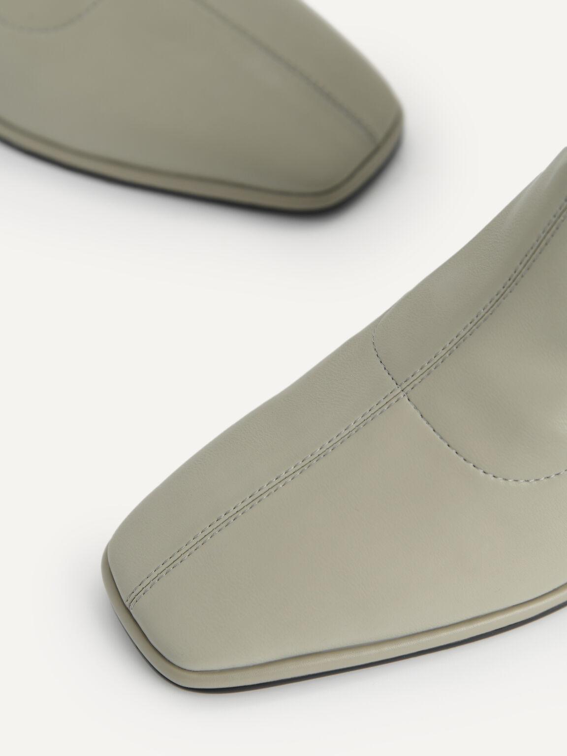 Heeled Ankle Boots, Olive, hi-res