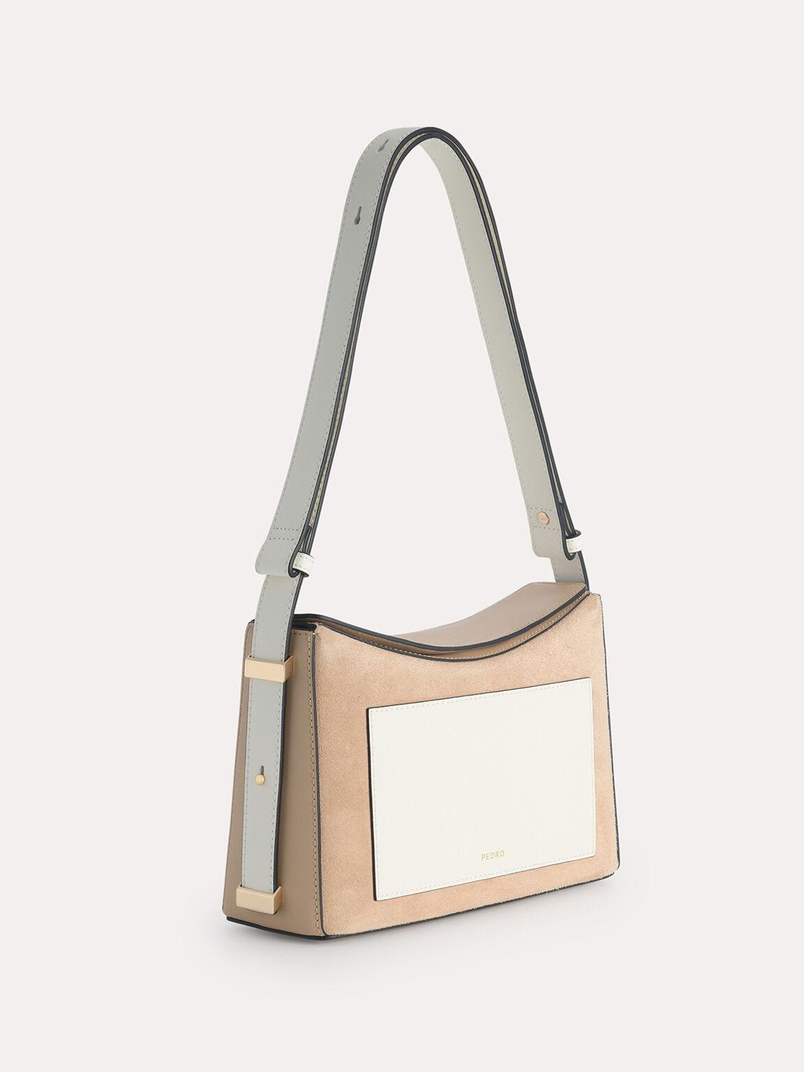 Leather Shoulder Bag, Multi2, hi-res