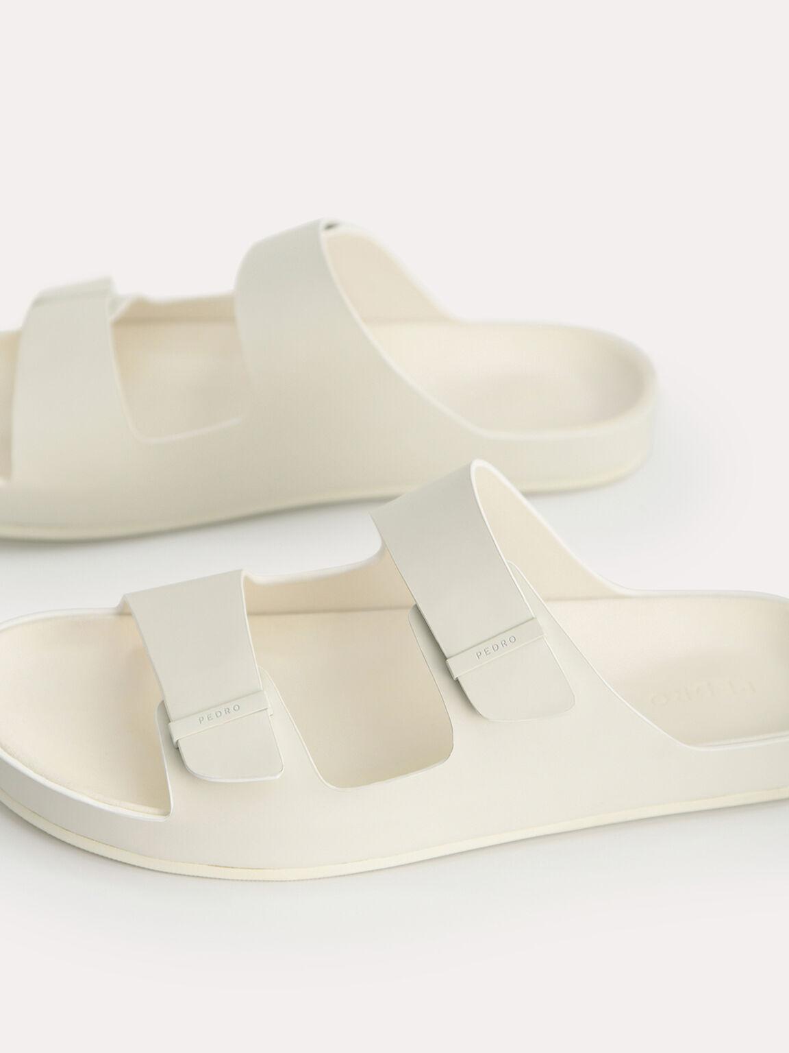 Double Strap Sandals, Chalk, hi-res