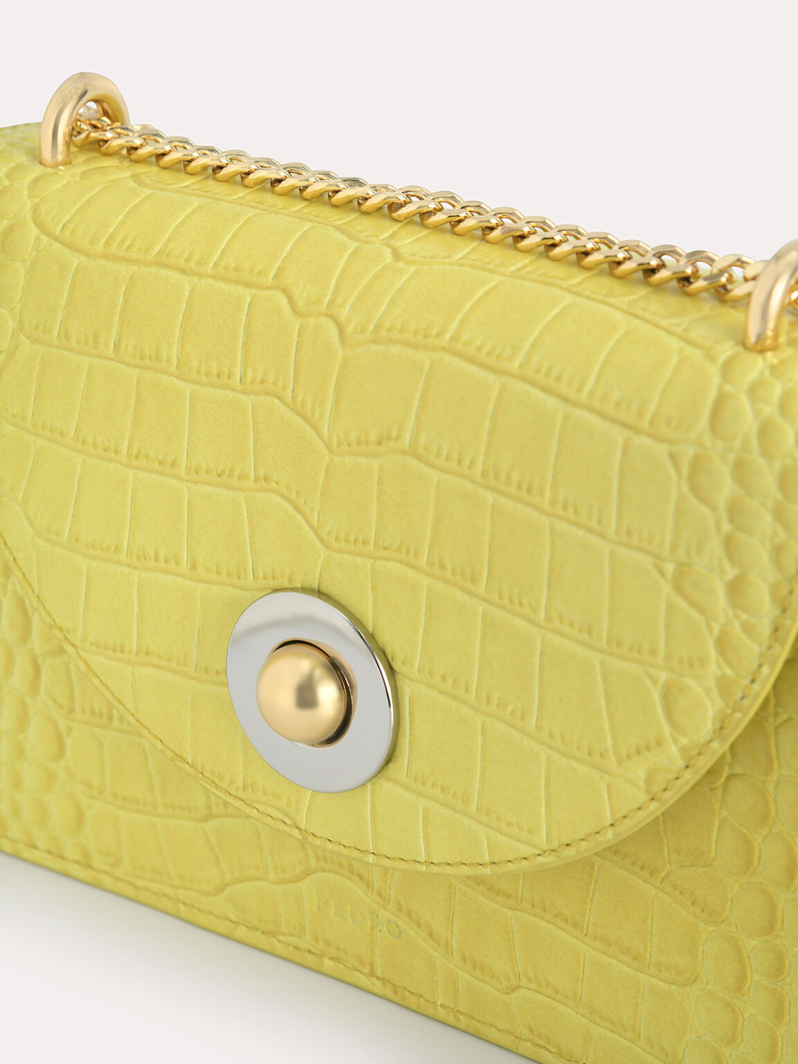Textured Leather Travel Organisers, Yellow, hi-res