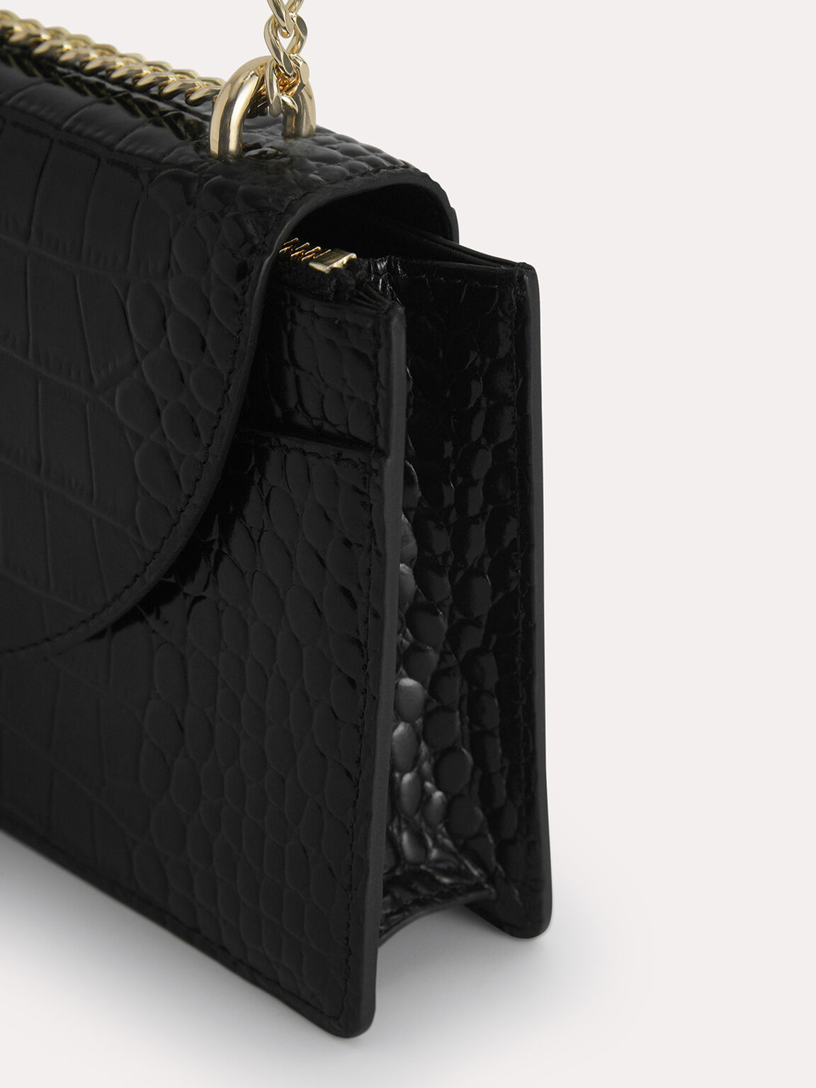 Textured Leather Travel Organisers, Black, hi-res