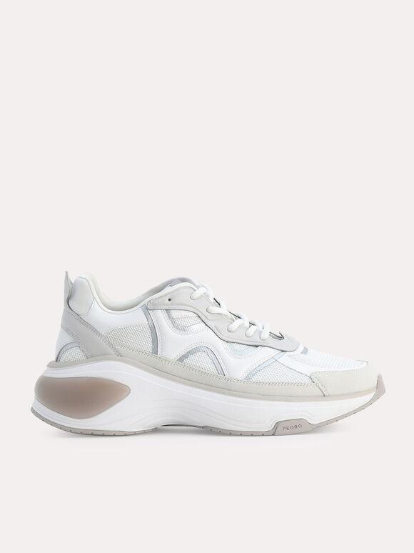 Tectonic sneakers, White, hi-res