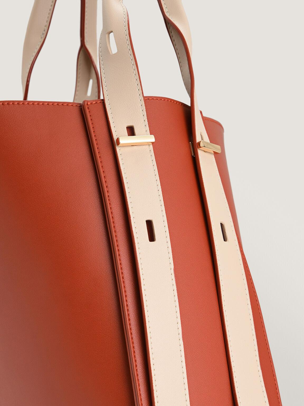 Duo-Carry Hobo Bag, Brick, hi-res