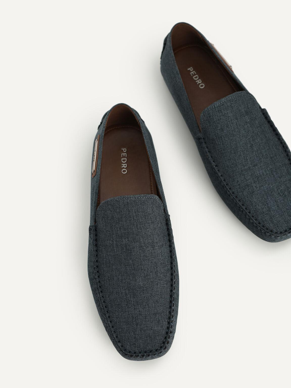 休閒莫卡辛鞋, 海军蓝色, hi-res