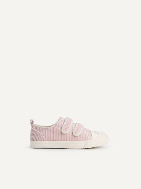 Corduroy Sneakers, Blush, hi-res