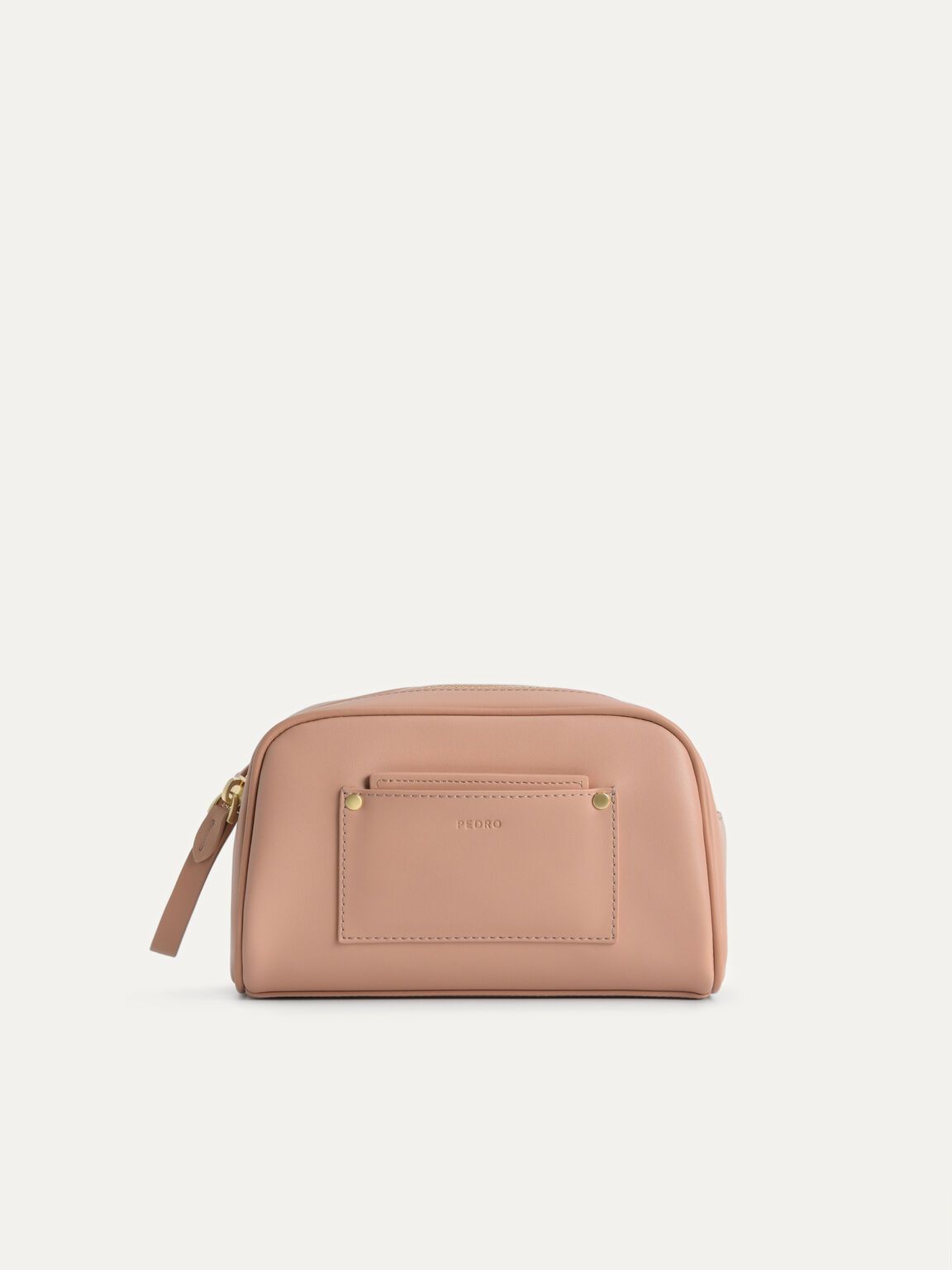 Casual Cosmetic Pouch, Blush, hi-res