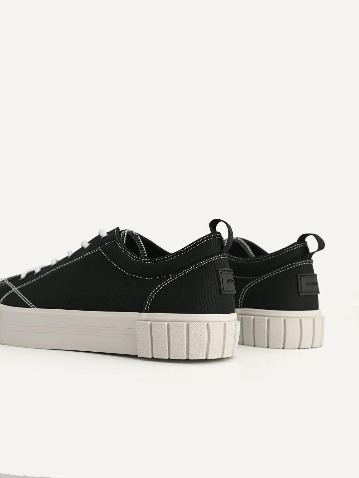 Beat Court Sneakers, Black, hi-res