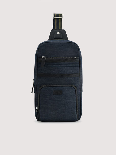 rePEDRO rPET Denim Sling Pouch, Navy, hi-res
