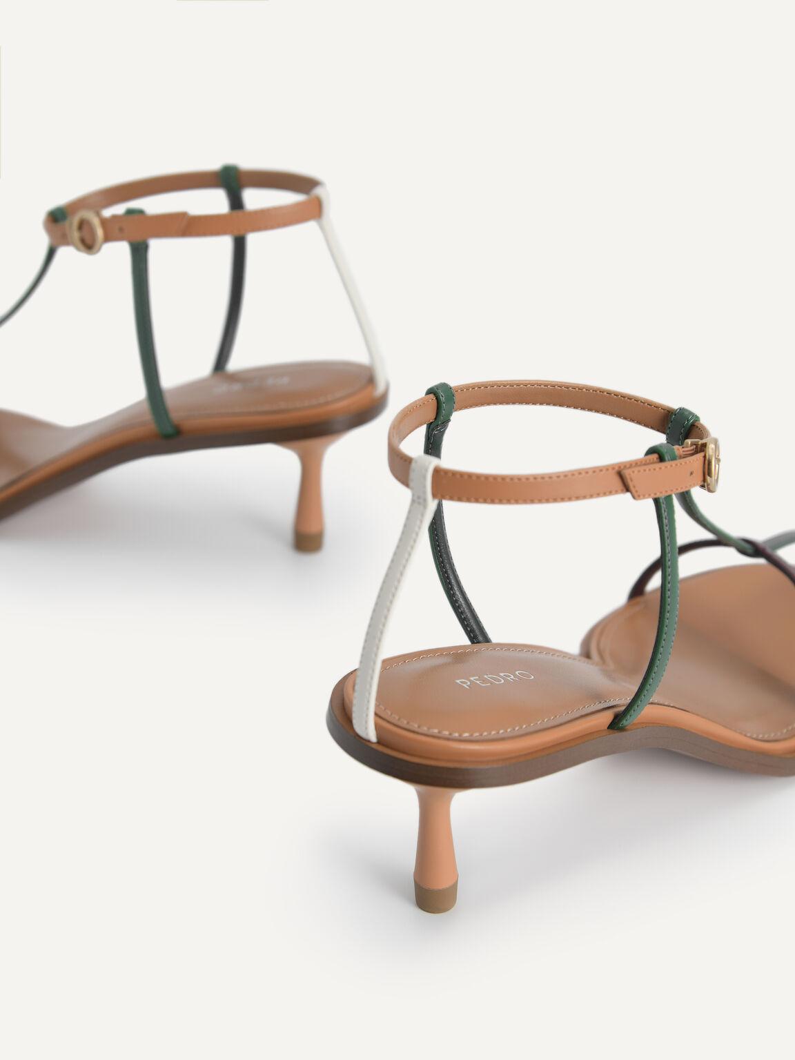 Ankle-Strap Heeled Sandals, Multi, hi-res