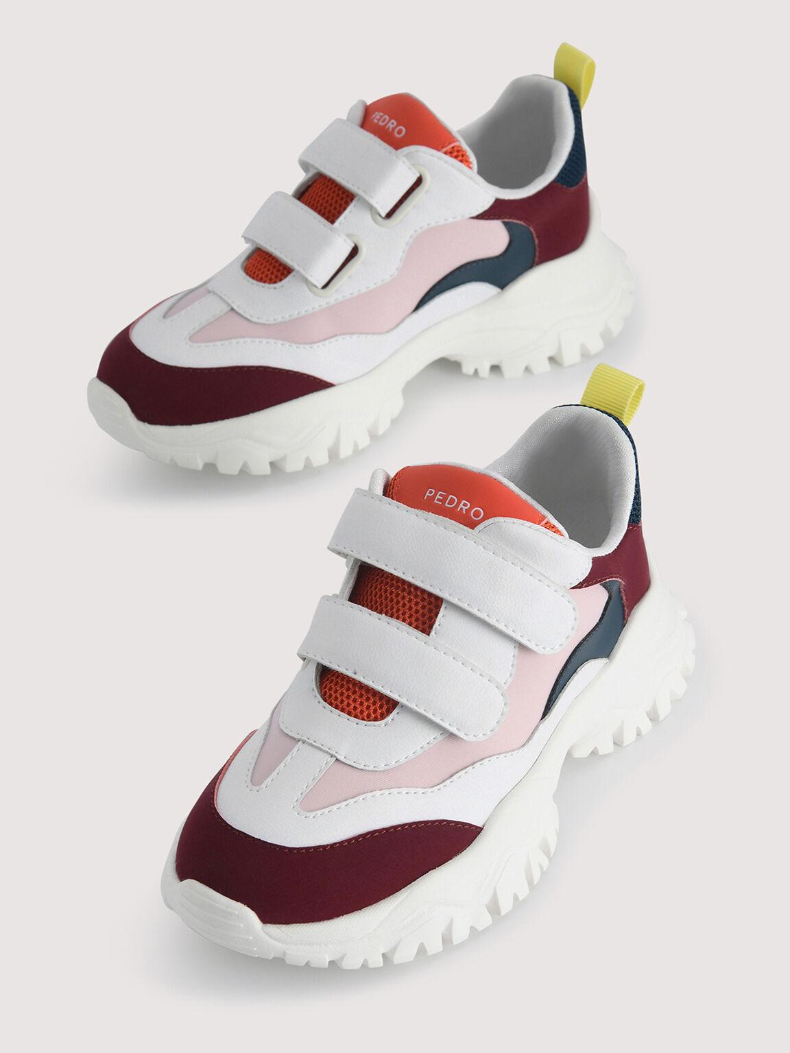 Colourblock Sneakers, Multi, hi-res