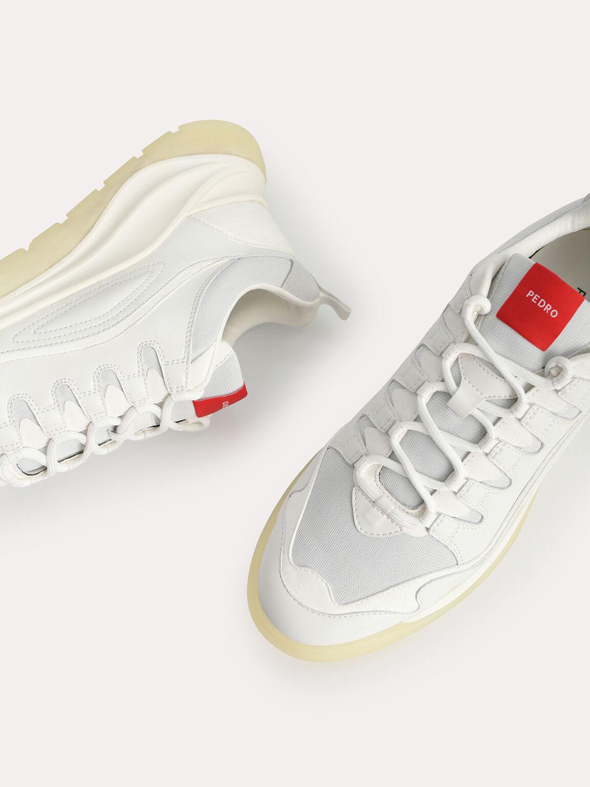 Cloudtrail Sneakers, White, hi-res