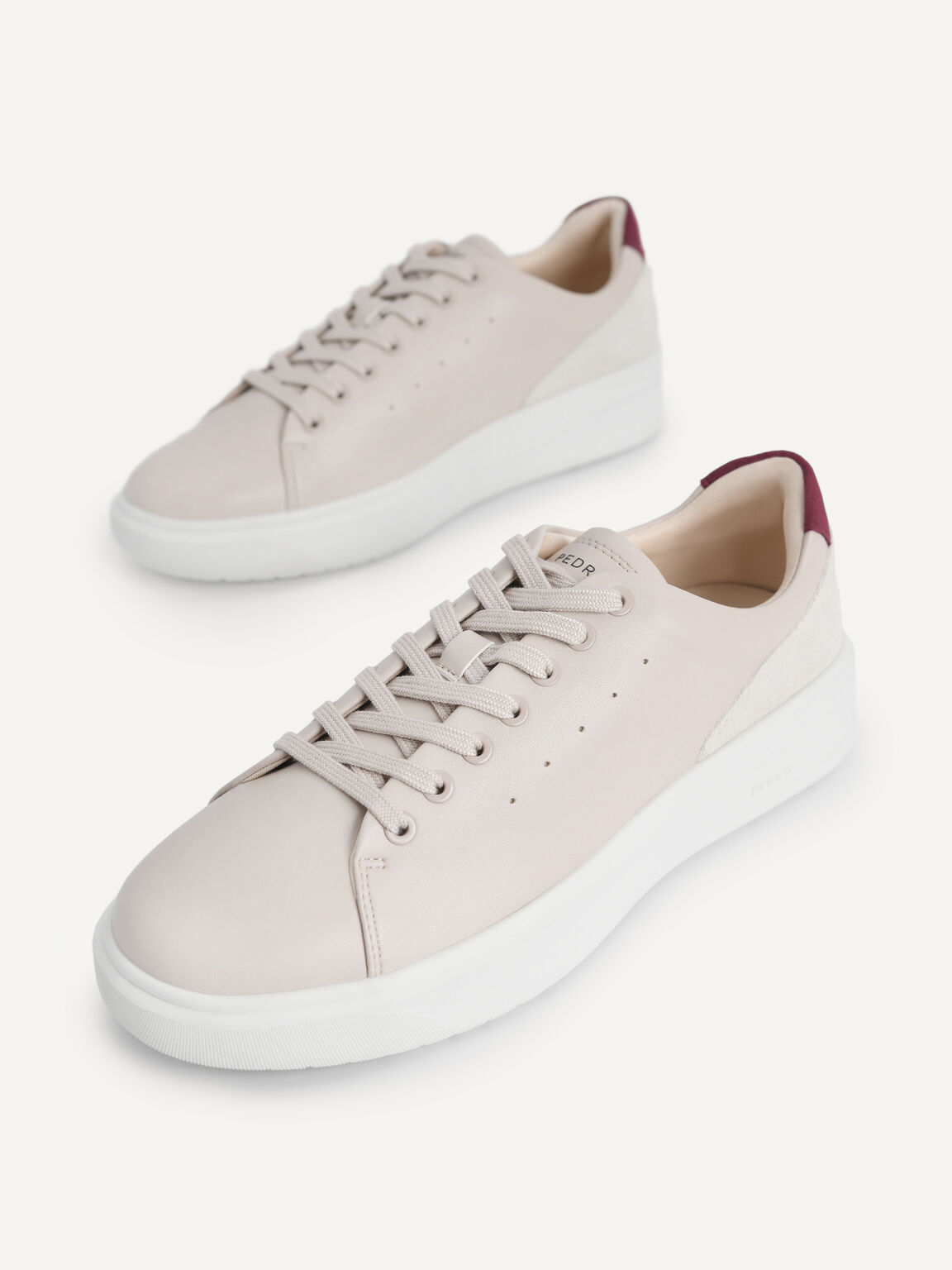Dayflux Court Sneakers, Taupe, hi-res
