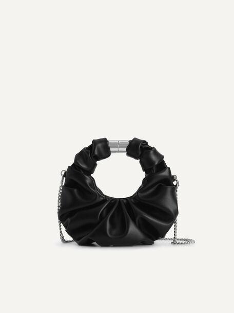 Mini Venus Hobo Bag, Black, hi-res