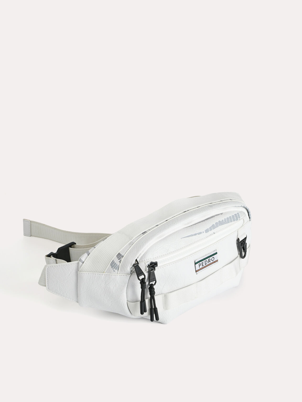 Casual Sling Pouch, White, hi-res