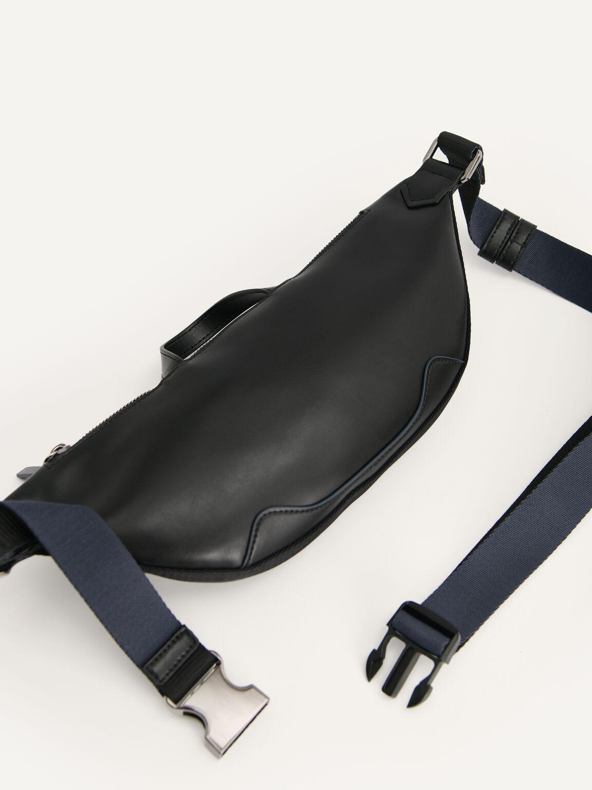 rePEDRO有機帆布腰包, 黑色, hi-res