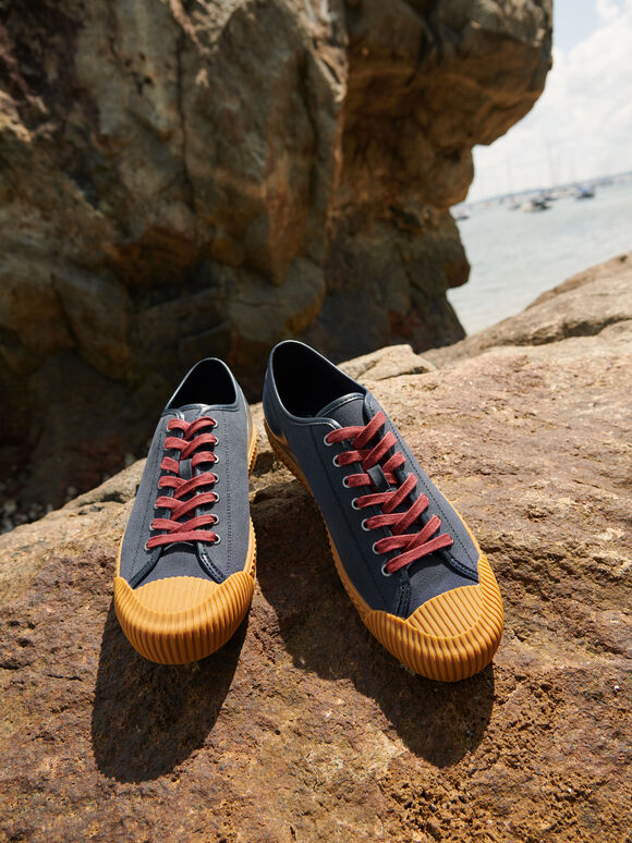 rePEDRO Lace-up Sneaker, Navy, hi-res