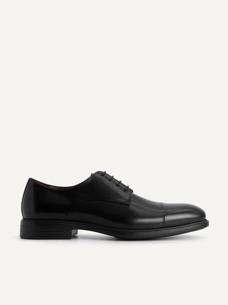 Altitude Leather Toe Derby Shoes, Black, hi-res