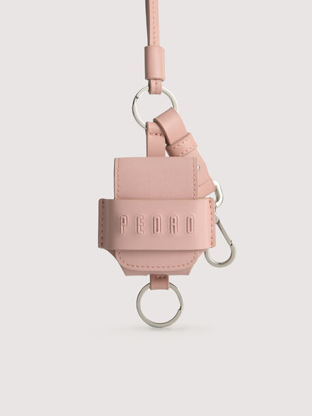 Leather Airpod Case, Blush, hi-res
