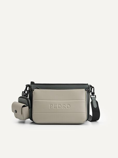 Sling Bag with Earphone Holder, Multi, hi-res