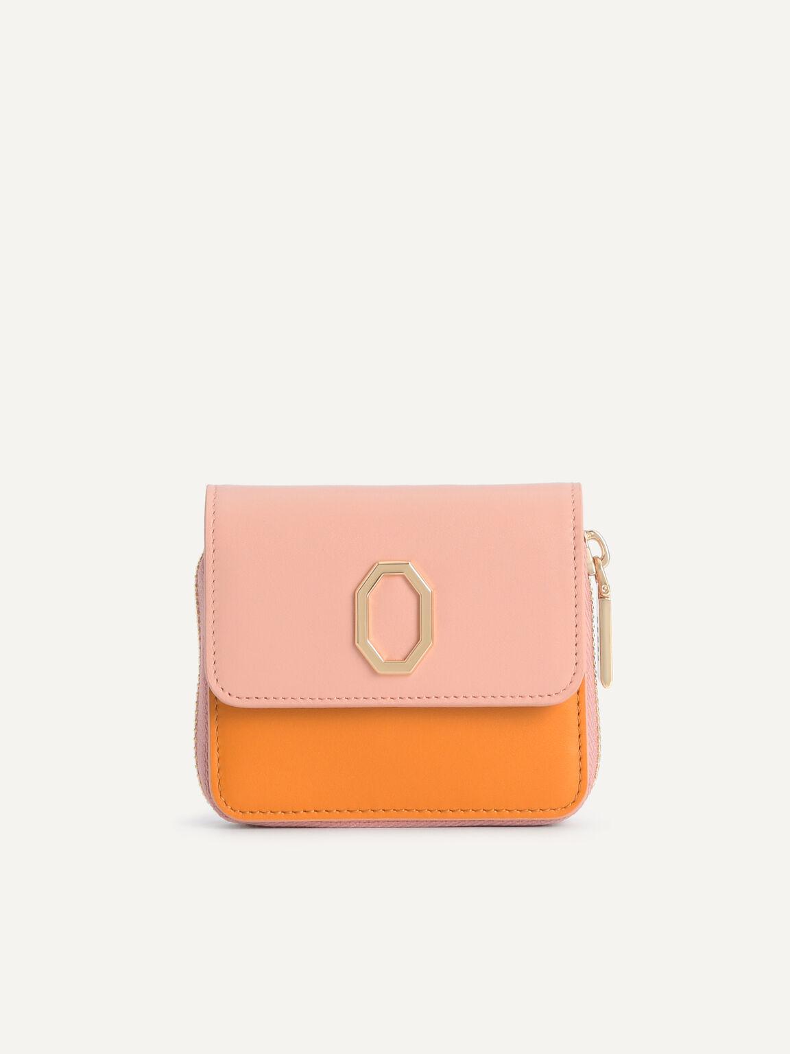 Leather Bi-Fold Wallet, Multi, hi-res