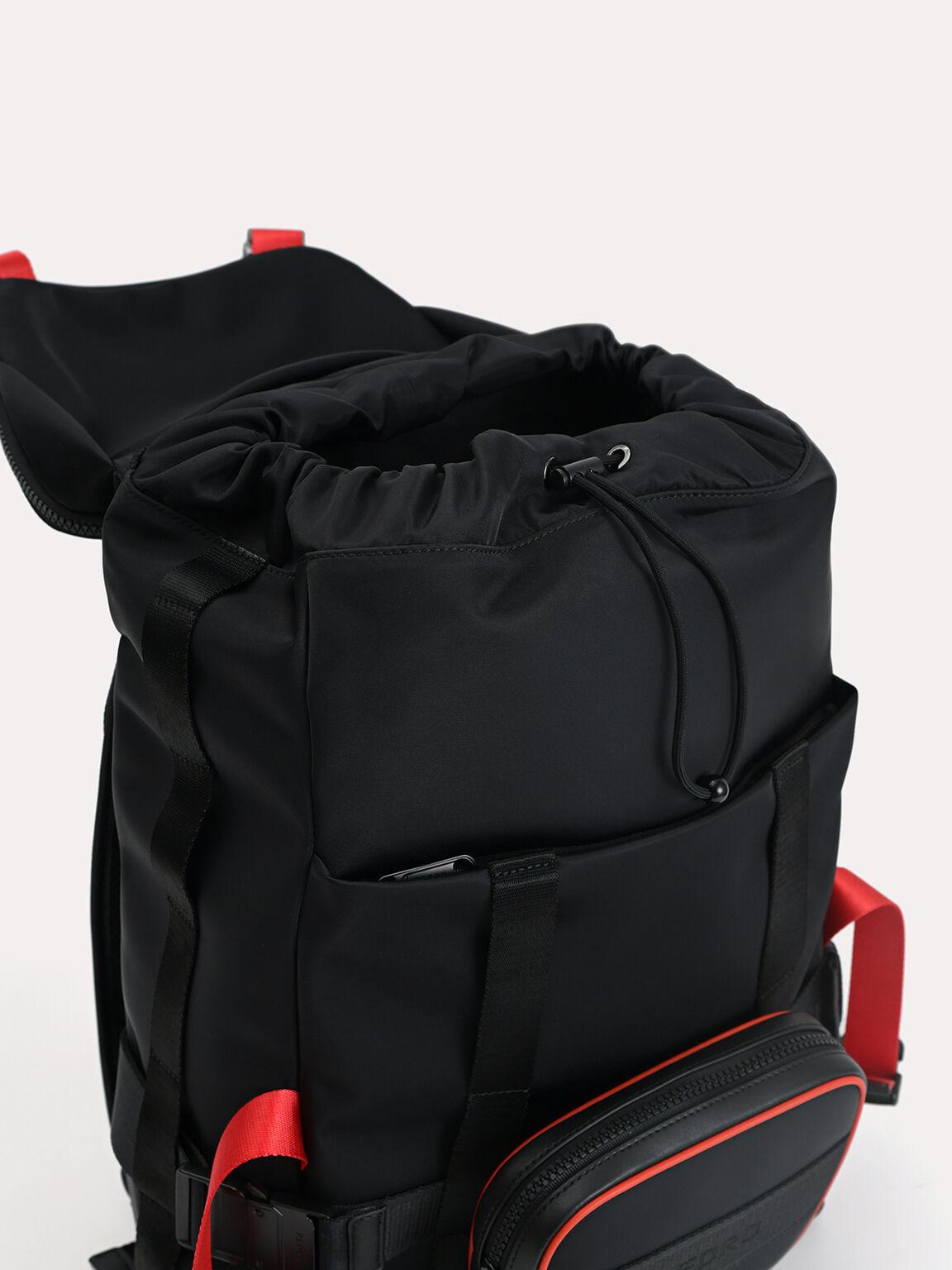 Nylon Backpack, Multi2, hi-res