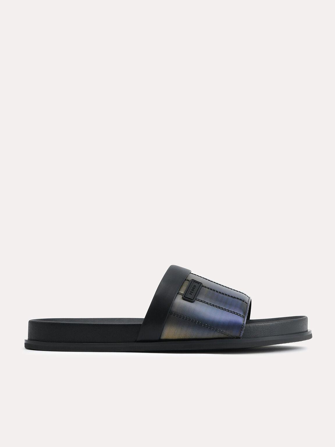 Iridescent Padded Slides, Multi, hi-res