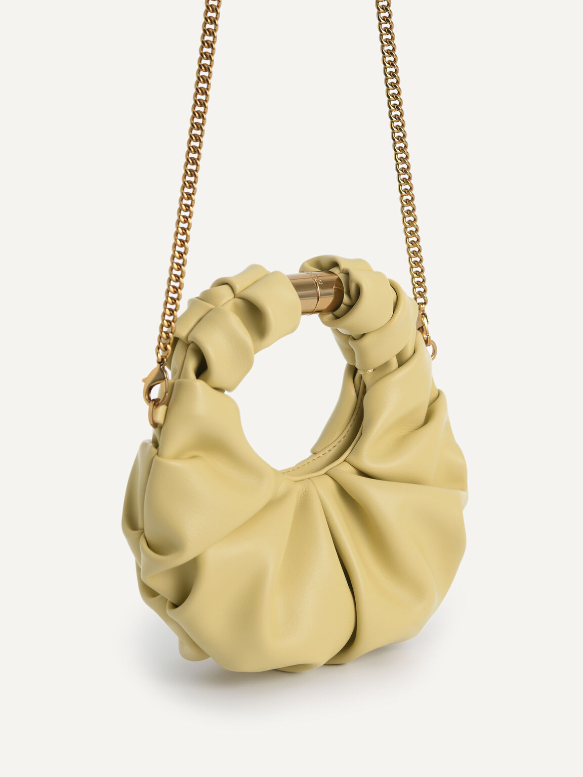 Mini Venus Hobo Bag, Sand, hi-res