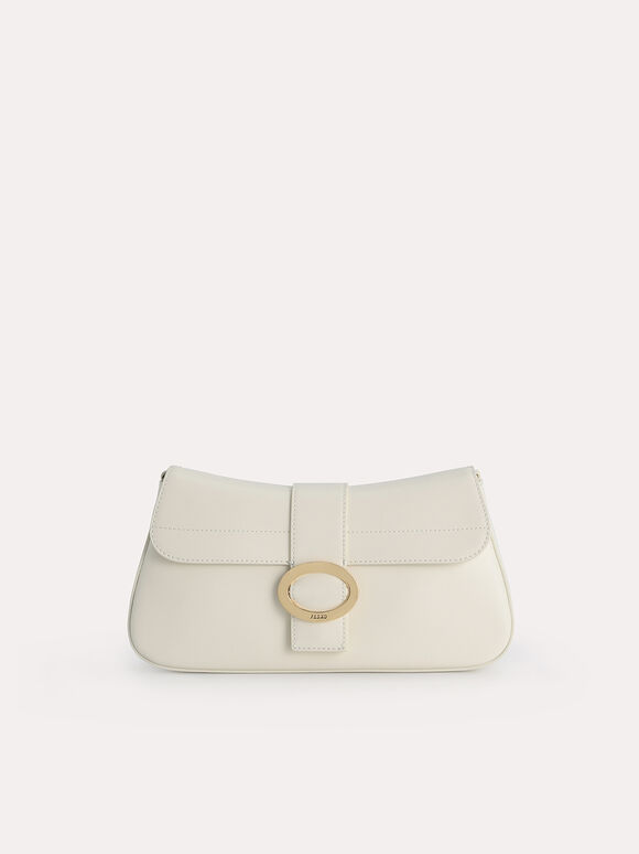 Rectangular Top Handle Bag, Chalk, hi-res