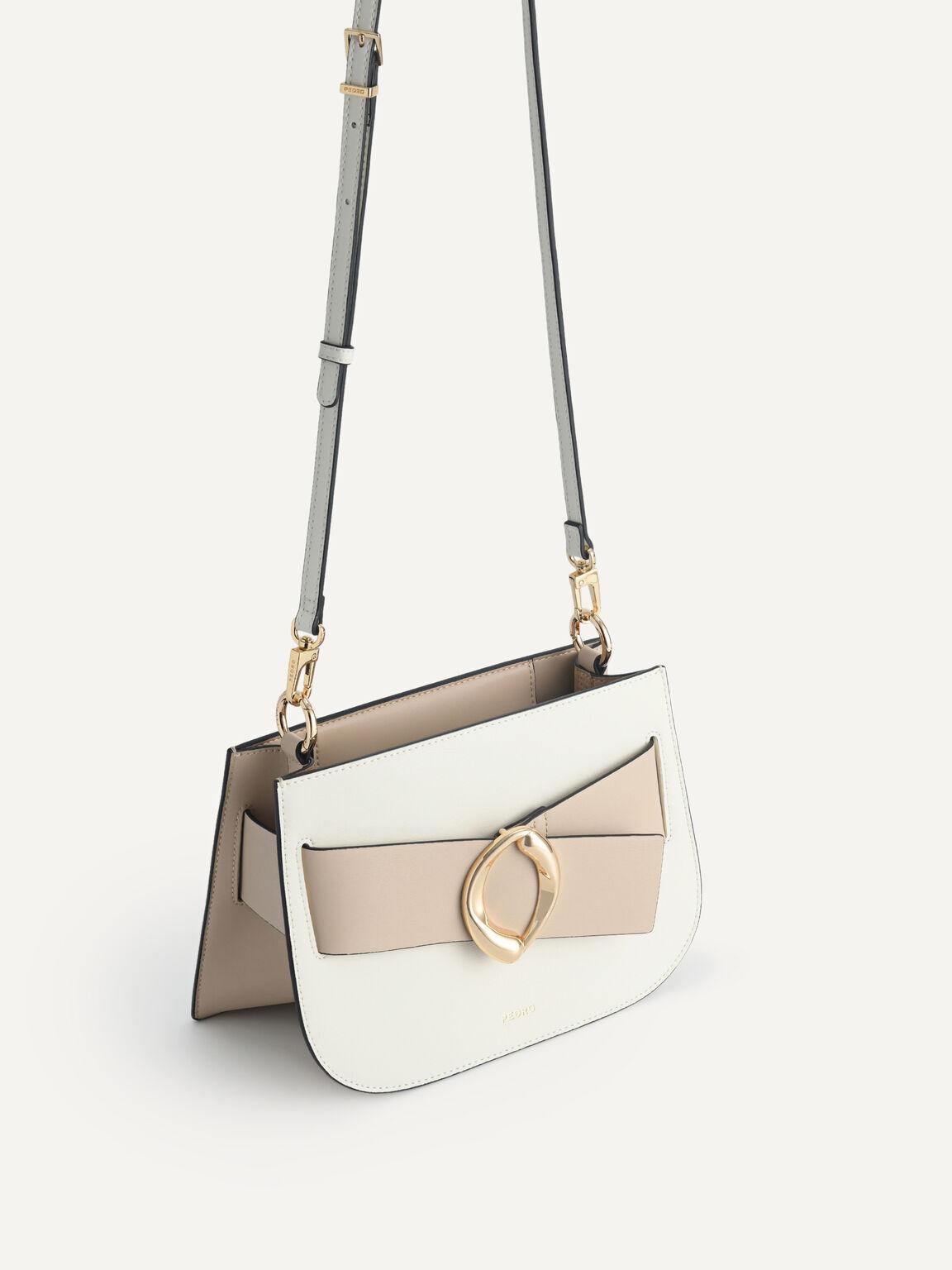 Leather Top Handle Bag, Multi, hi-res