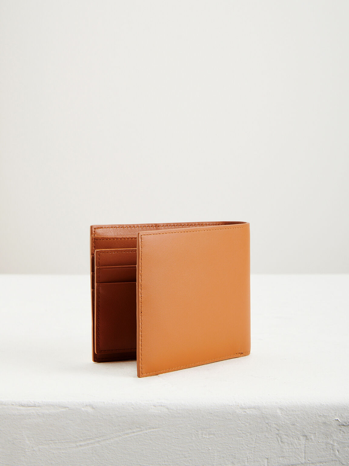 Colorblock Leather Wallet with Insert, Multi, hi-res