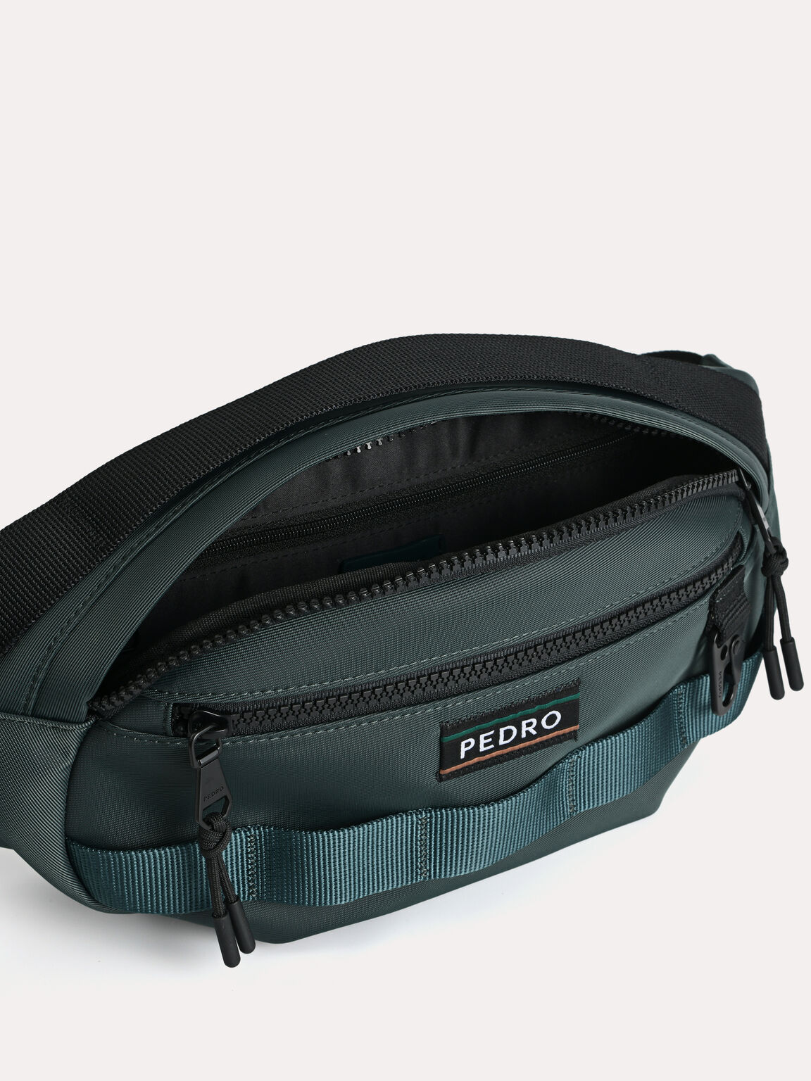 Casual Sling Pouch, Dark Green, hi-res