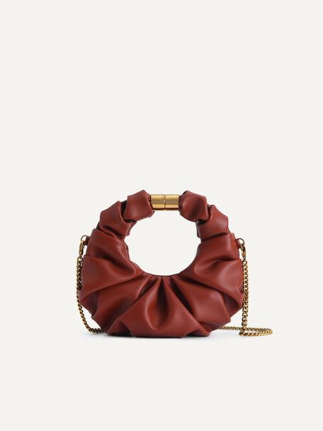 Mini Venus Hobo Bag, Brick, hi-res