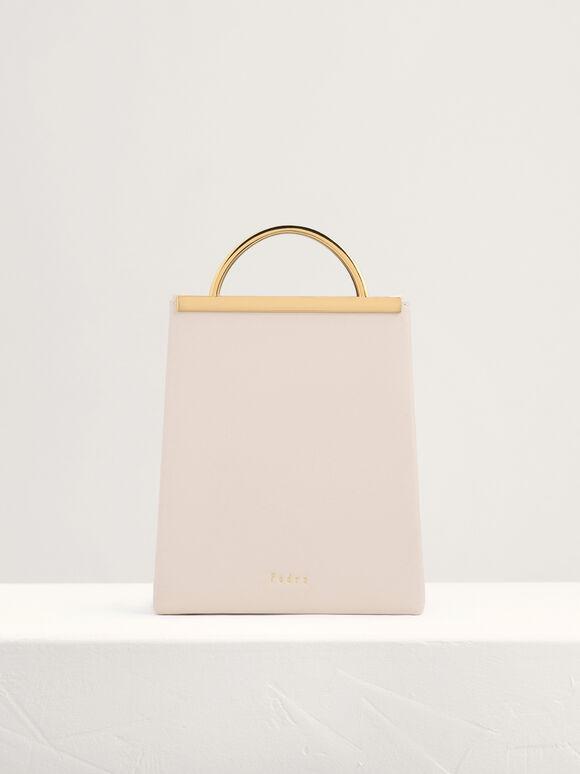 Mini Shoulder Bag, Nude, hi-res