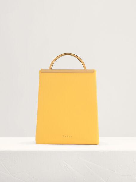Mini Shoulder Bag, Yellow, hi-res