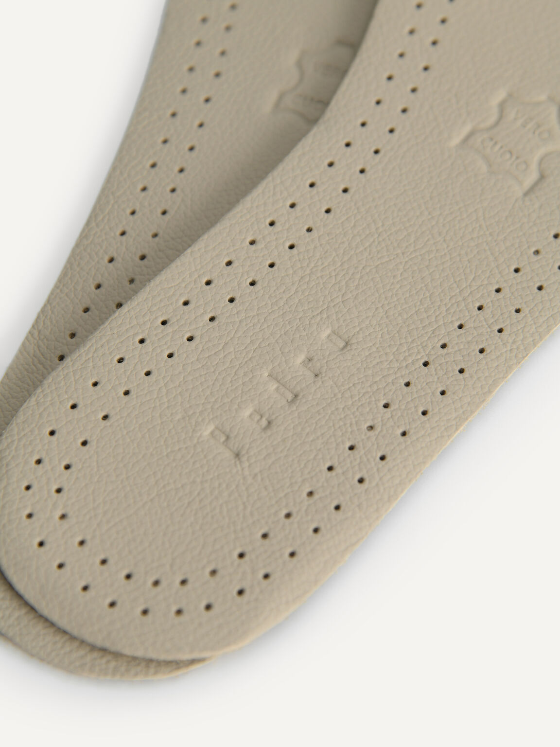 Genuine Leather Insole, Beige, hi-res