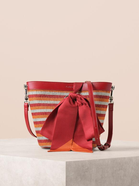 Scarf Bucket Bag, Multi, hi-res