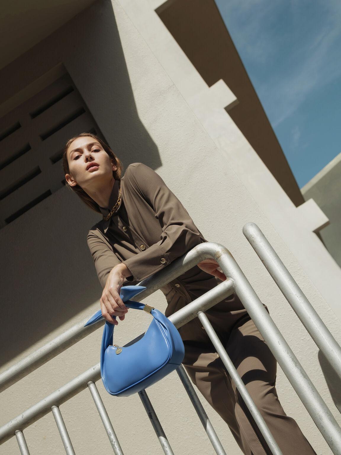 Loop Shoulder Bag, Blue, hi-res