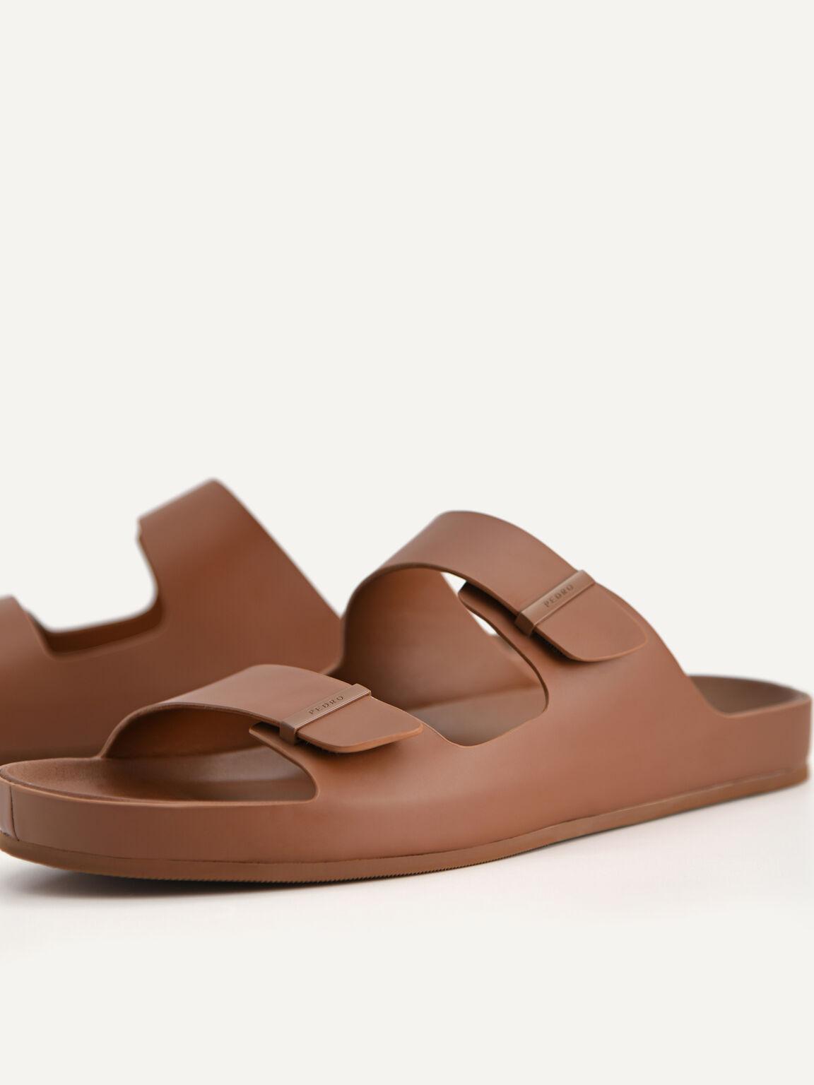 雙綁帶涼鞋, 棕色, hi-res