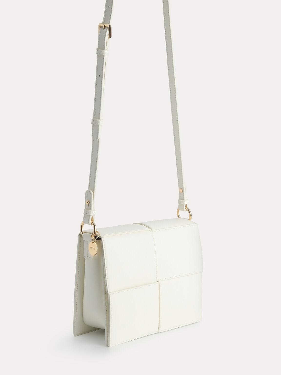 rePEDRO Mini Boxy Shoulder Bag, Chalk, hi-res