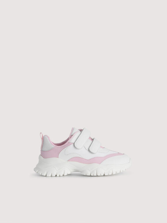 Colourblock Sneakers, Light Pink, hi-res
