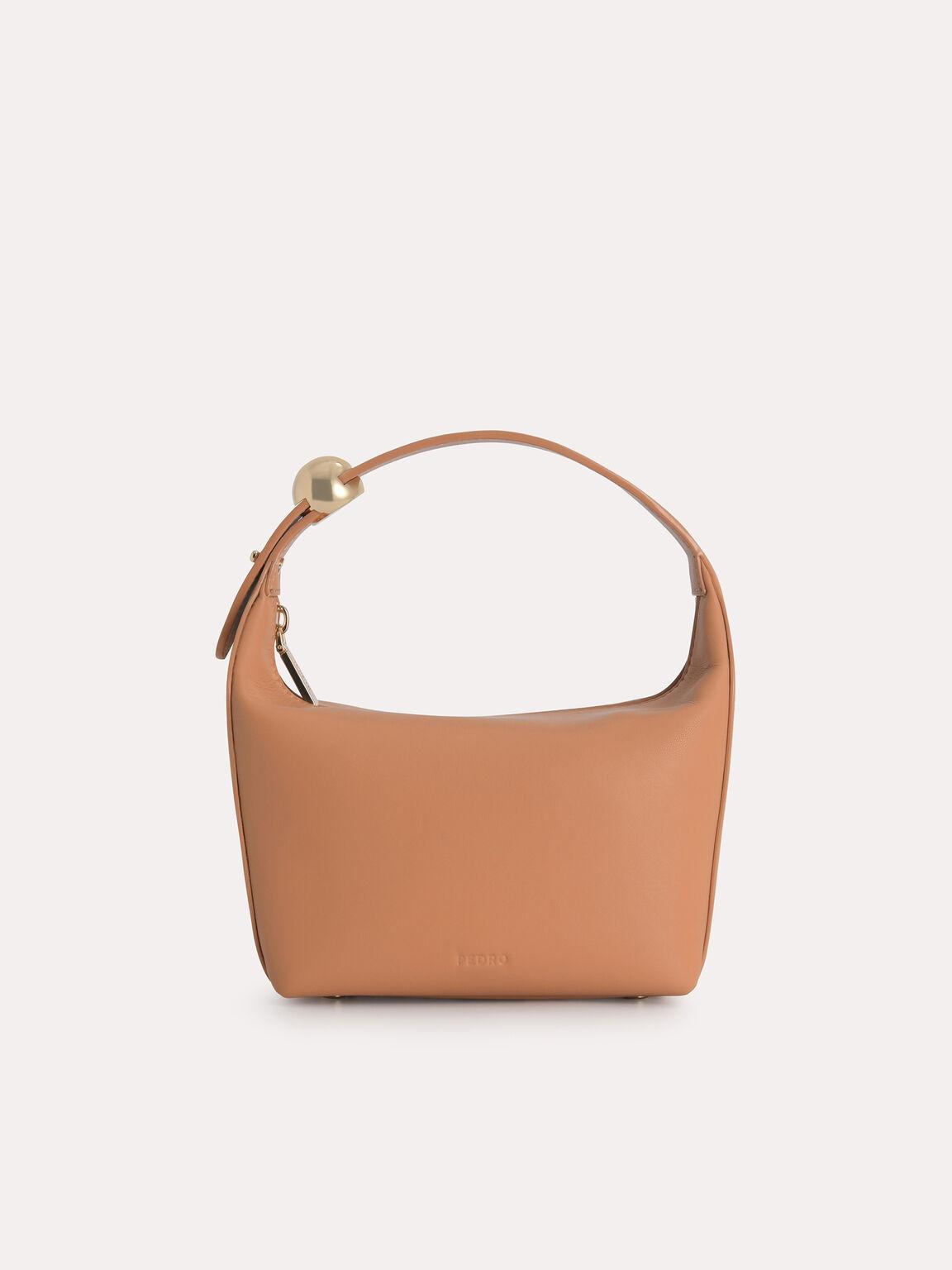 Mini Hobo Bag, Camel, hi-res