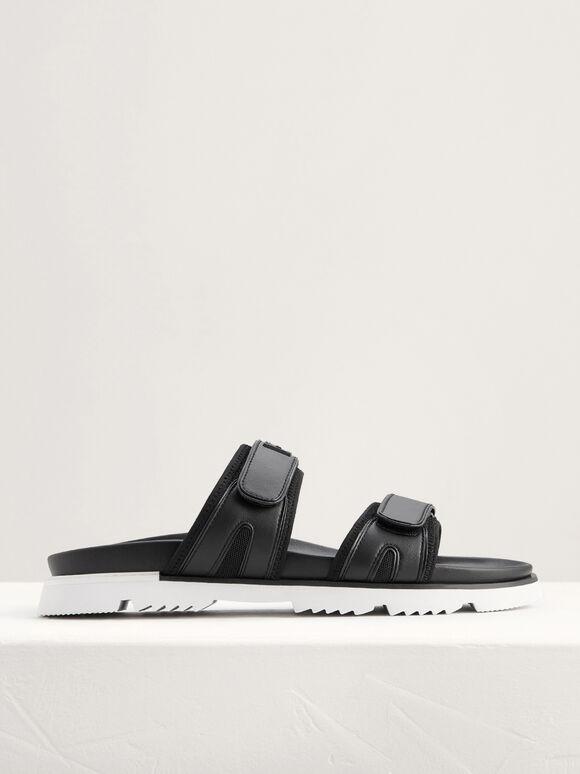 Velcro Slides, Black, hi-res