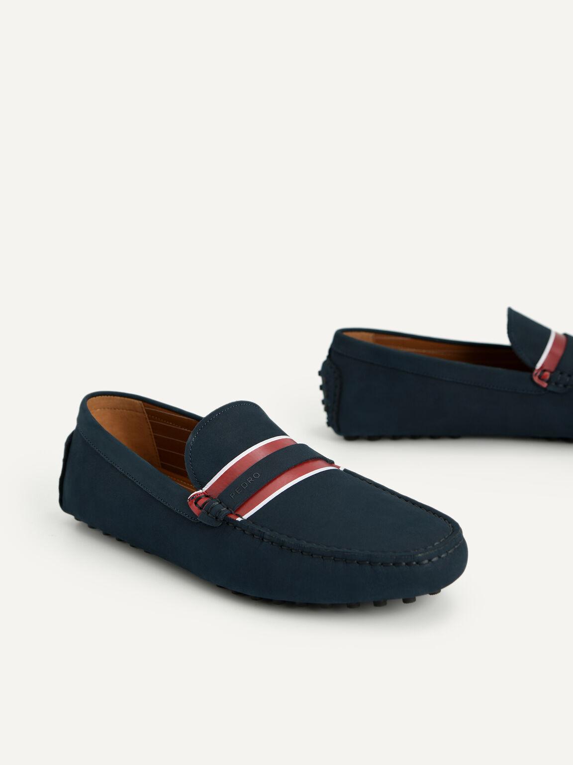 莫卡辛鞋, 海军蓝色, hi-res