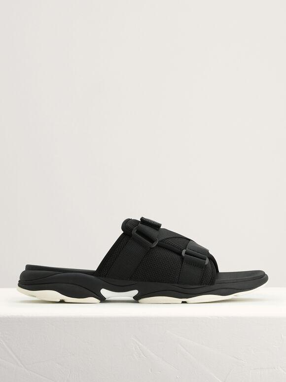 Velcro Sliders, Black, hi-res