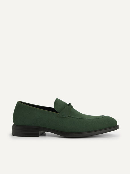 Altitude Leather Loafers, Dark Green, hi-res