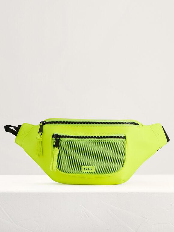 Casual Belt Bag, Neon Green, hi-res