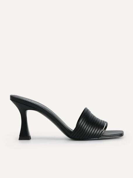 High Heeled Sandals, Black, hi-res
