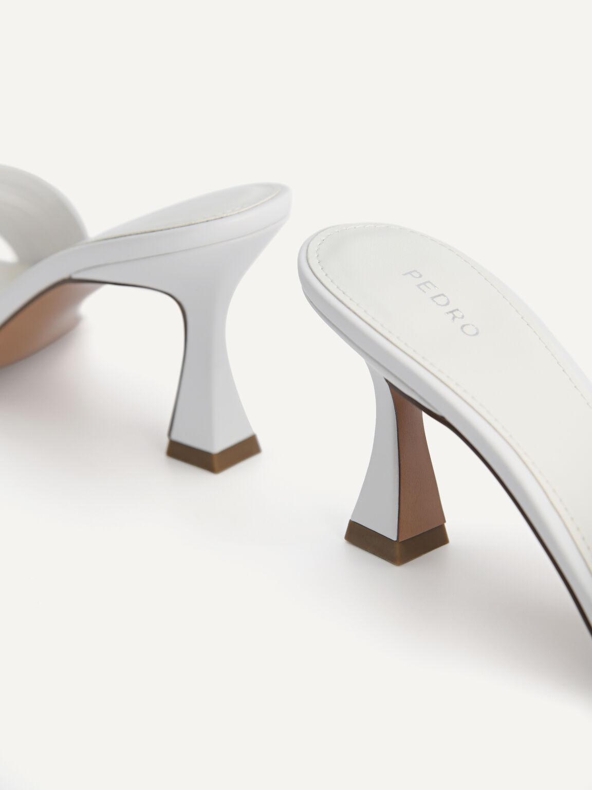 High Heeled Sandals, White, hi-res