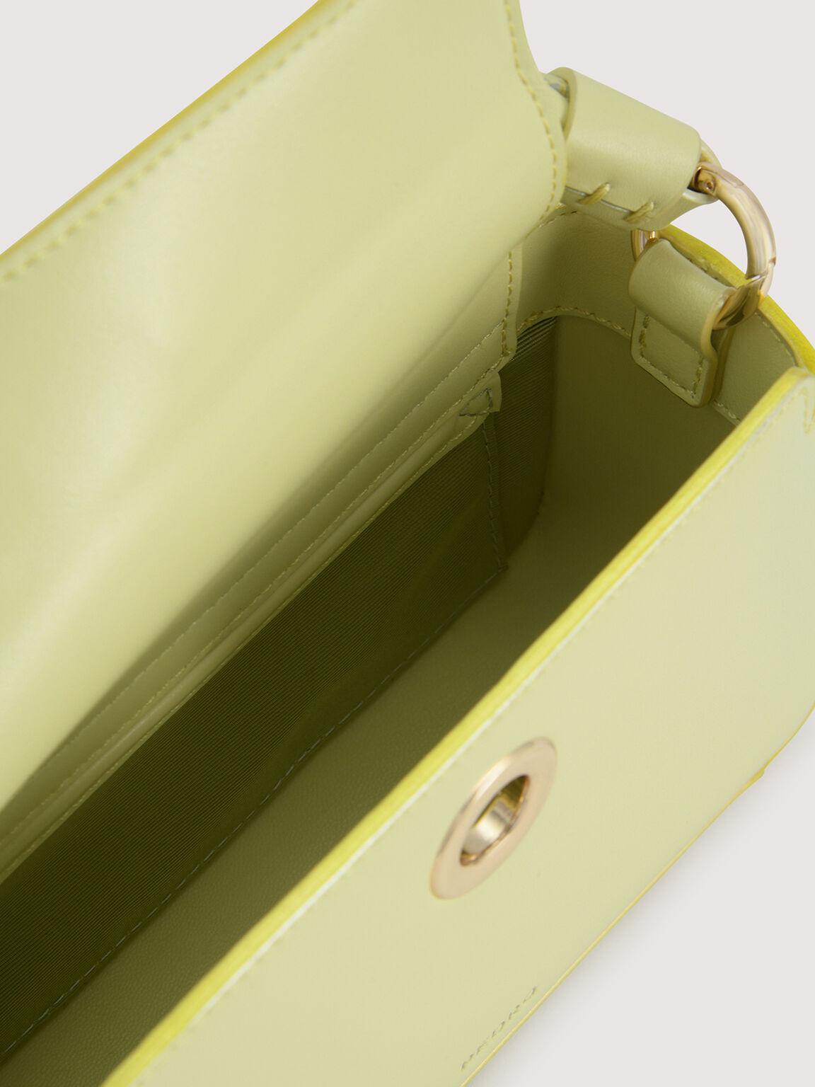 Rope-Trimmed Bowling Bag, Light Green, hi-res