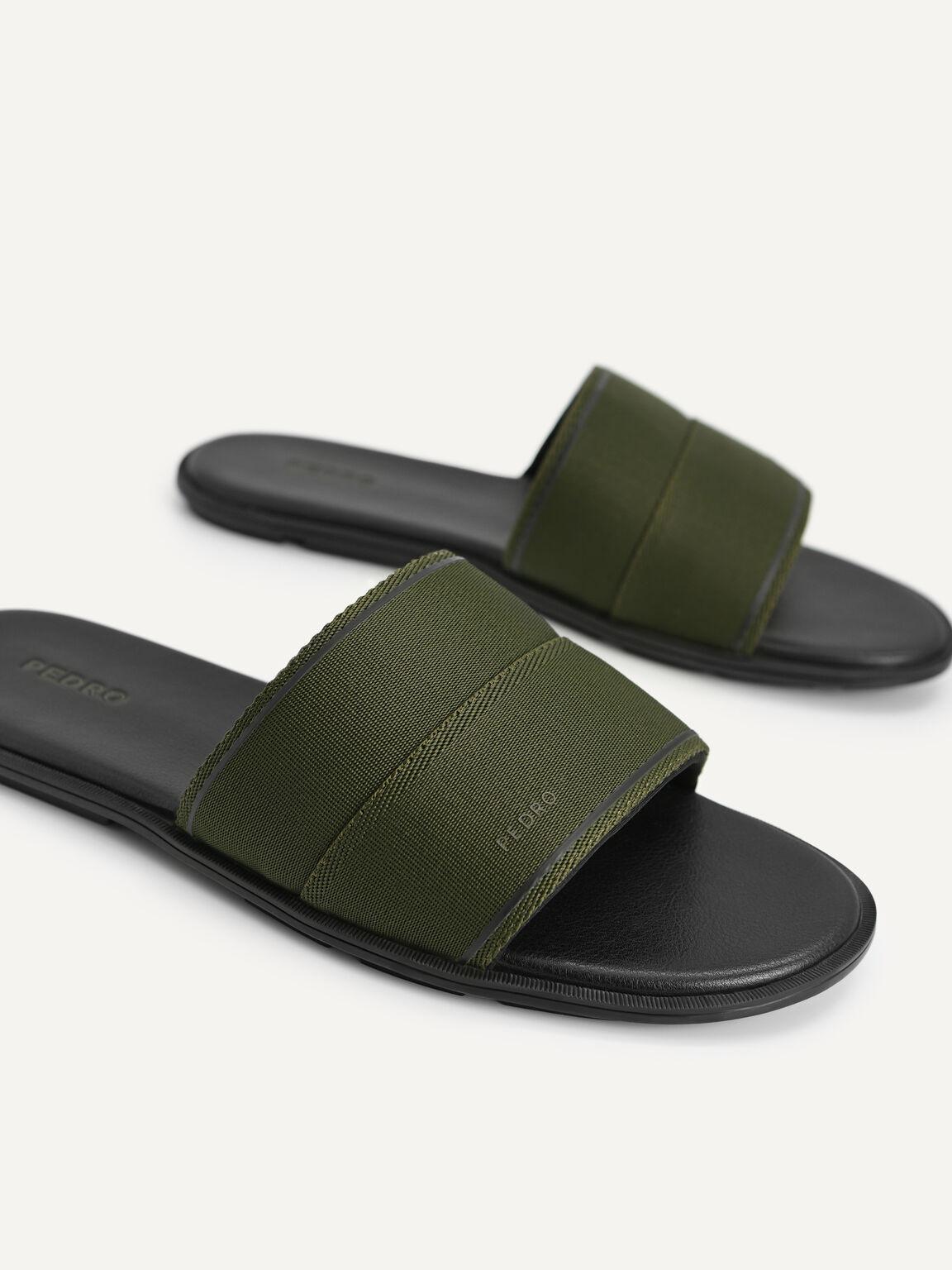 Nylon Slides, Military Green, hi-res